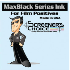 MaxBlack™ UV Resistant Dye Ink - 1 Liter Bottle