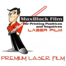 "8.5""x11"" MaxBlack Laser Film (100 Sheets)"